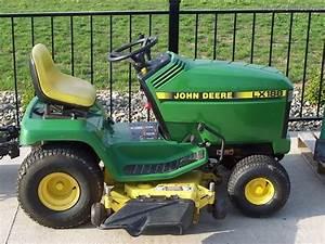 1996 John Deere Lx188 Lawn Tractor  17hp Liquid