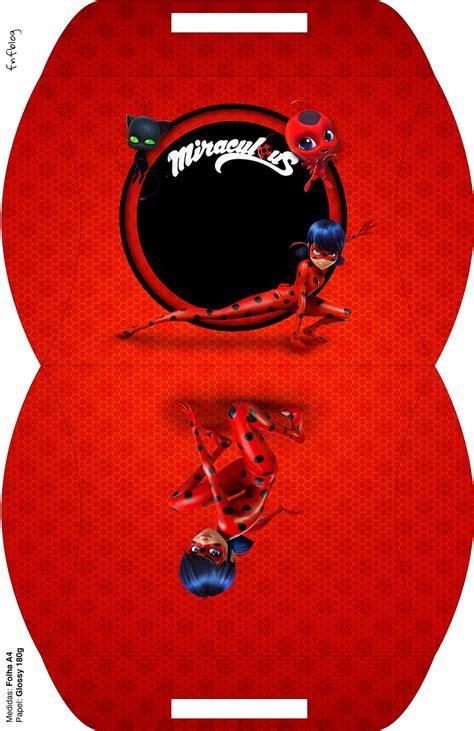 miraculous ladybug  printable boxes   fiesta