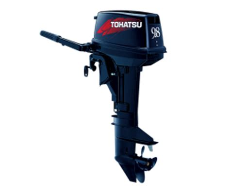 9 8hp two stroke shaft tohatsu outboard