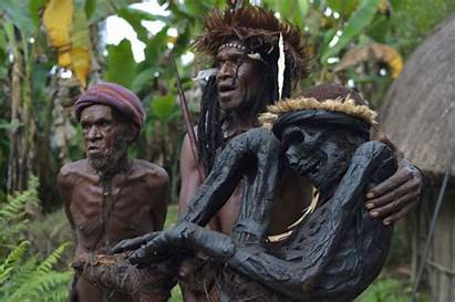 Tribe Dani Papua Dead Guinea Mummies Death