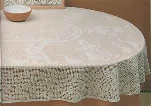 Nappe De Table Rectangulaire : crochet nappe ovale oies et enfants tutoriel gratuit le blog de crochet et tricot d 39 art de ~ Teatrodelosmanantiales.com Idées de Décoration