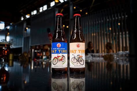 New Belgium's Fat Tire Gets A Sibling In Fat Tire Belgian White  Brew Studs