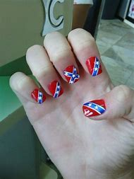 Best 25 ideas about rebel flag find what youll love rebel flag acrylic nails prinsesfo Image collections