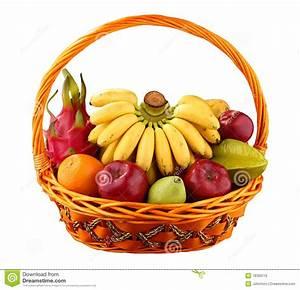 Panier A Fruit : panier de fruit photo libre de droits image 18329115 ~ Teatrodelosmanantiales.com Idées de Décoration