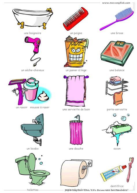 vocabulaire de la chambre 17 best images about vocabulaire la maison on
