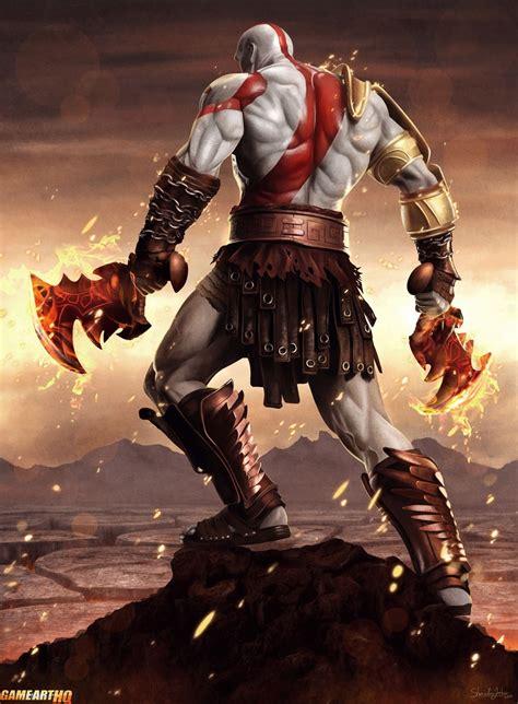 Angry Kratos Is Angry