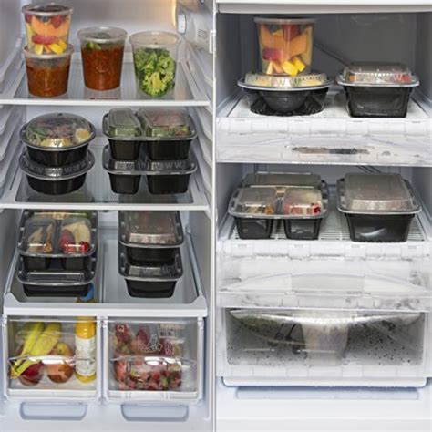 Mixed Meal Prep Containers Set   Bento Lunch Boxes