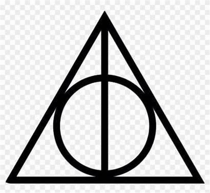 Hallows Symbol Potter Harry Deathly Clipart Symbols