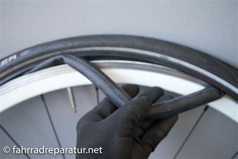 fahrradreifen wechseln ratgeber fotos luftdruck frnet