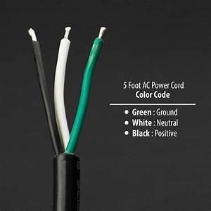 5 Feet Ac Power Cord