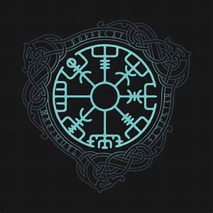 Symbole Mythologie Nordique : vegvisir vikings pinterest tatouage tatouage viking and tatouage nordique ~ Melissatoandfro.com Idées de Décoration