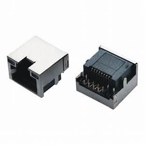 China 8p8c Panel Mount Rj45 Pcb Mount Socket Mini Rj45