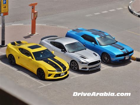 Car And Driver Mustang Vs Camaro by Comparo 2017 Dodge Challenger Srt Vs Ford Mustang Gt Vs