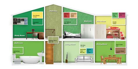 nippon paint color workspace id themed colours fresh botanicals