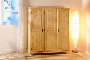 Kleiderschrank Massivholz Kiefer : kleiderschrank schlafzimmerschrank bern 3 t rig kiefer massivholz lackiert ebay ~ Watch28wear.com Haus und Dekorationen