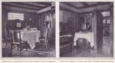 interior designs kitchen 1911 owner designed arts crafts bungalow cottage 1911