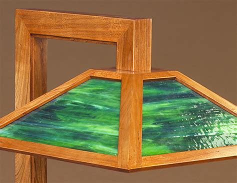 arts crafts table lamp