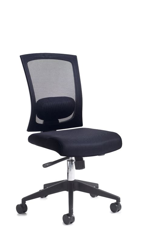 Office Chair With Arms Or Without by Gemini 300 Mesh Chair With Or Without Adjustable Arms And
