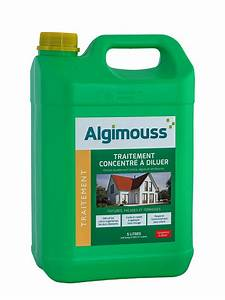 Traitement Anti Mousse : traitement concentr diluer anti mousse algimouss ~ Farleysfitness.com Idées de Décoration