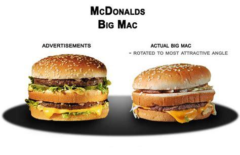 publicité cuisine la publicité mensongère en quoi la publicité mensongère