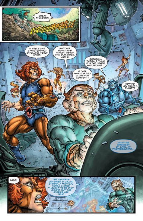man thundercats  preview cosmic book news