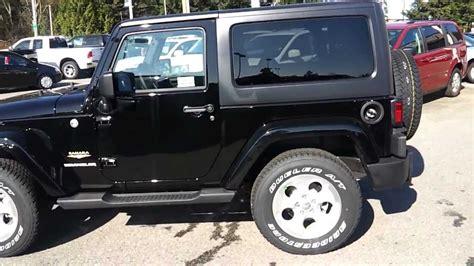 jeep wrangler sahara black youtube