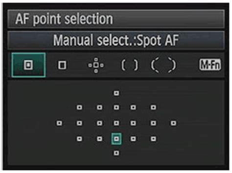 focus points   canon    models