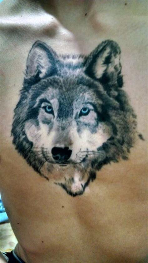 lobo tattoo realistic wolf tatuagens pinterest