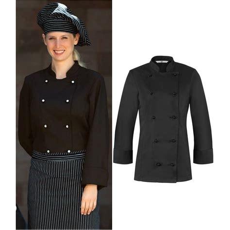 tenue de cuisine femme veste de cuisine femme l 233 g 232 rement cintr 233 e col officier