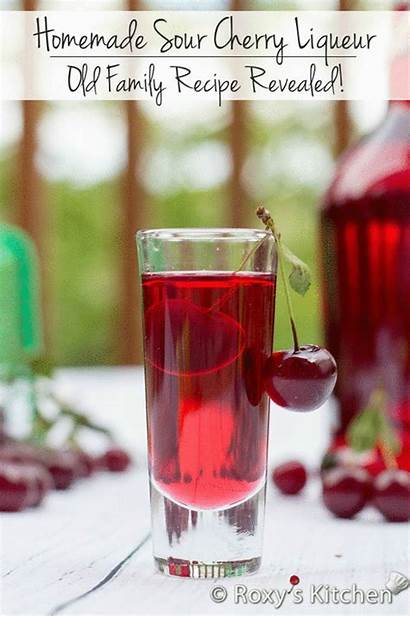 Homemade Cherry Liqueur Recipe Sour Easy Kitchen