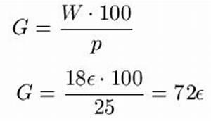 Grundwert Berechnen Formel : grundwert ~ Themetempest.com Abrechnung