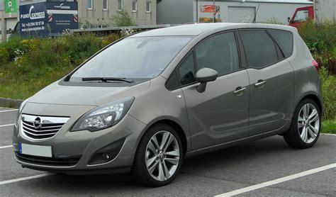 Opel Meriva opel meriva photos informations articles bestcarmag