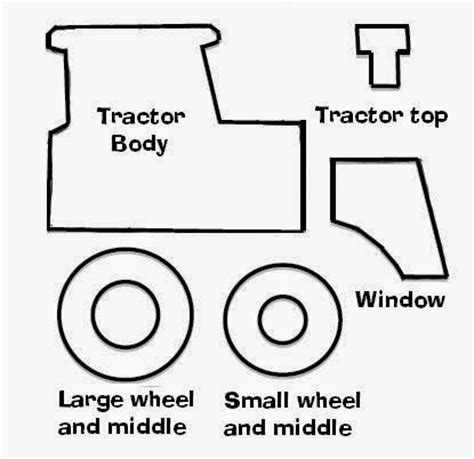 tractor template to print sailboats and circle skirts