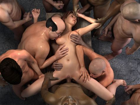 big boobs Slut Gets Fucked By Strangers In Gangbang