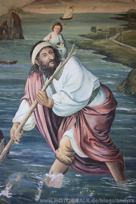 der heilige christophorus schutzpatron der autofahrer gt heiliger christophorus andyrx