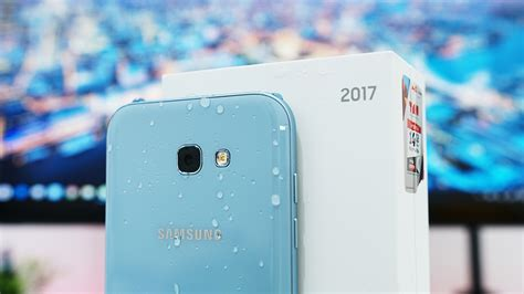 unboxing samsung galaxy   indonesia warna blue mist youtube