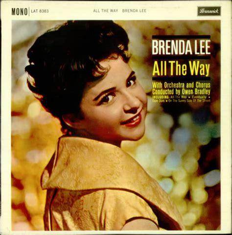 brenda lee album covers brenda lee all the way ex uk vinyl lp album lp record