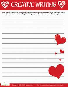 Creative writing for grade 3 worksheet