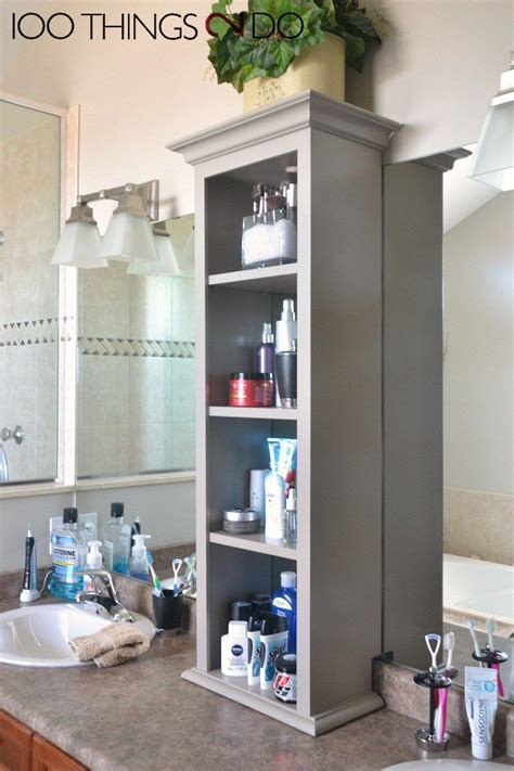 bathroom vanity storage ideas bathroom vanity storage bathroom storage tower bathroom