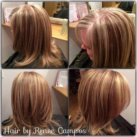 grey blending   highlightlowlight hair