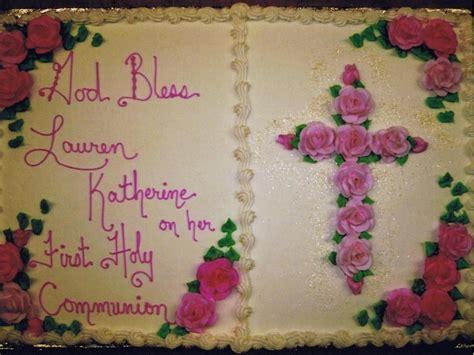 communion confirmation cakes
