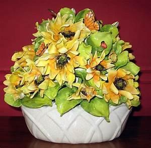 Eva Gordon Design Studio Ceramics - Sunflower Basket ...