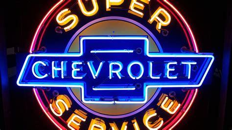 Chevrolet Super Service Neon Sign Sspn 42in