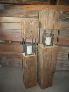 Säulen Aus Holz : habe einige laternen aus altholz teils ber 100 jahre alten balken abzugeben passen sehr gut ~ Orissabook.com Haus und Dekorationen