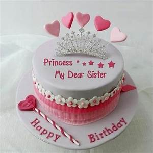 Amazing Birthday Wish Cake For Sister - NiceWishes