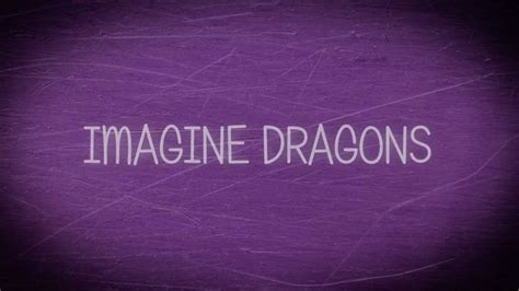Imagine Dragons  Radioactive (lyrics) Hq Youtube