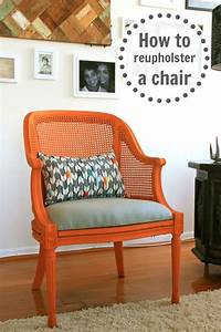 How to reupholster a chair infarrantly creative for How to reupholster a chair