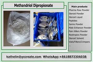 Pharma Grade Raw Hormone Powders Methandriol Dipropionate For Bodybuilding Cas 3593