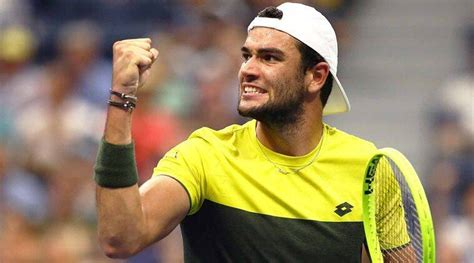 Matteo berrettini defeats taro daniel in four sets to reach the second round in paris for the fourth straight year. Matteo Berrettini sinks Gael Monfils to reach US Open semis | Sports News,The Indian Express