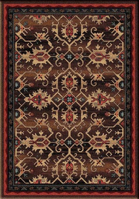 Pagosa Area Rug: Western Passion